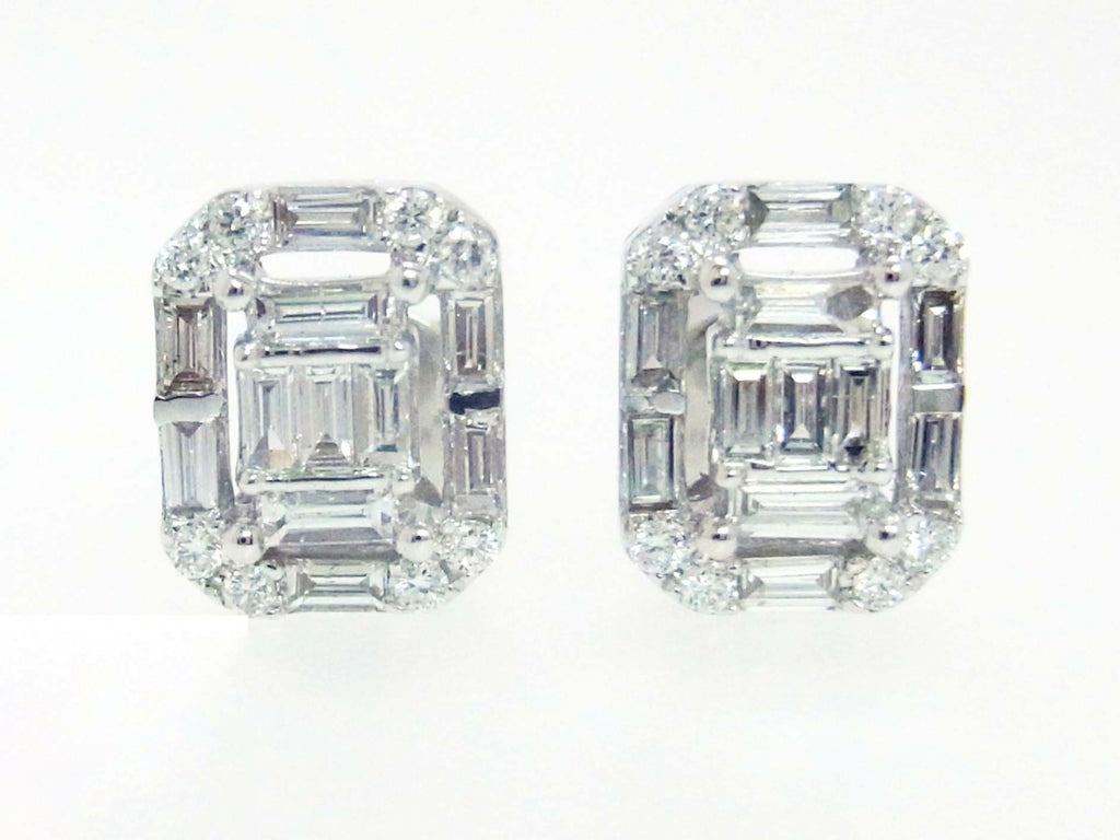 18kw Diamond 0.64 Earring