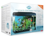 Blue Planet Classic Fish tank Aquarium 70L LED - Filter & Heater included