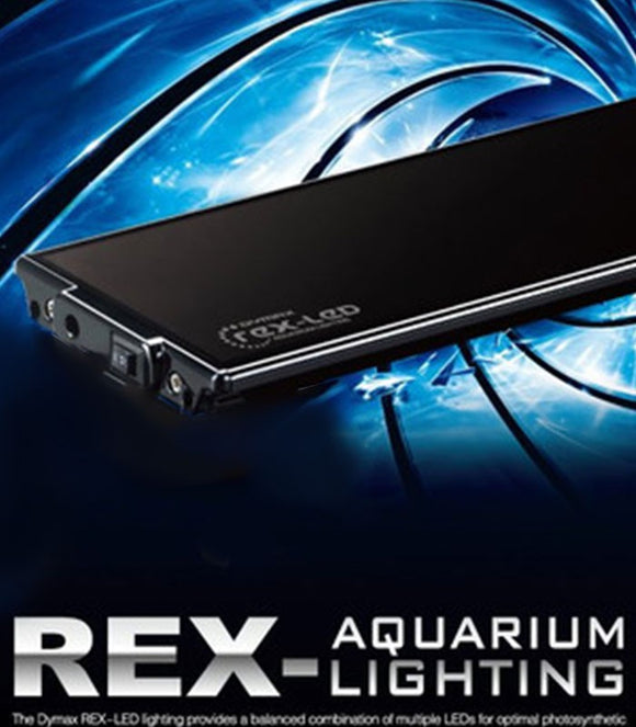 Dymax Rex LED Aquarium Light Pink / White 45cm   - DM402