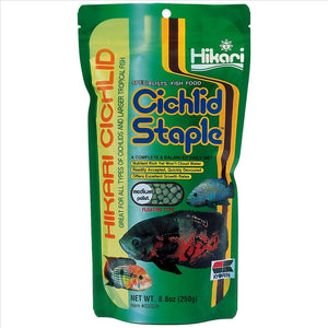 Hikari Cichlid Staple Medium Pellet 250g   5 - 5.5mm