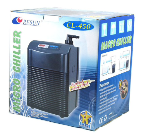Resun CL450 Aquarium Chiller 1/6HP - 500L