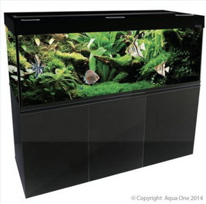 Aqua One Brilliance 150 Aquarium - Black 398 litres