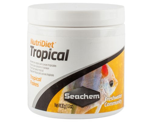 Seachem Nutridiet Tropical Fish Flakes 30gm