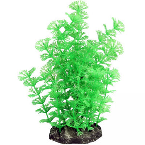 Aqua one Medium Green Ambulia Artificial Aquarium Plant 20cm Tall