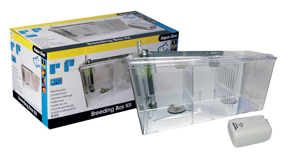 Aqua One Breeding Box / Fish Hatchery Kit - Including Air Pump