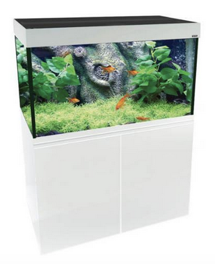 Aqua One Brilliance 120 Aquarium - White 286 litres