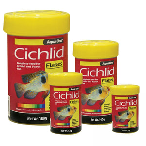 Aqua One Cichlid Flakes 100gm
