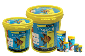 Aqua One Tropical Fish Flake Food 52gm