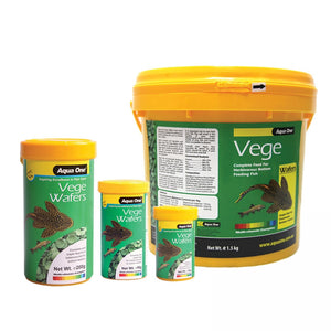 Aqua One Vege Wafers Algae Discs 1.5kg Bucket