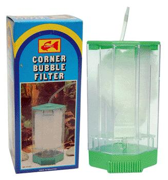 Air operated Corner Box Aquarium Filter -  Large