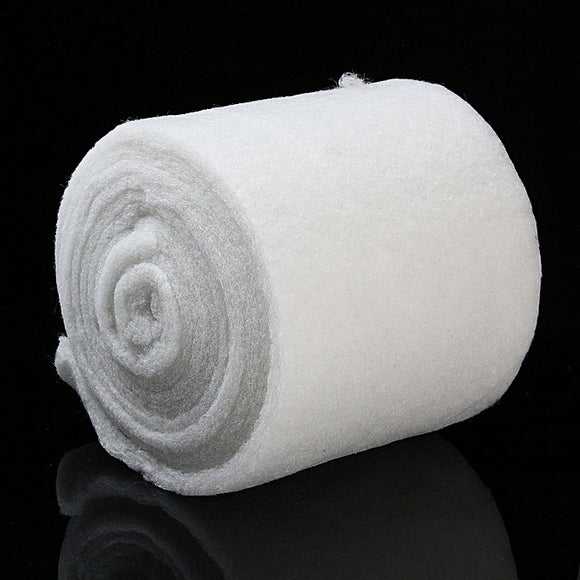Fine Filter Sponge Media Mat Wool Pad Aquarium Fish Tank 50cm x 25cm x 2.5cm