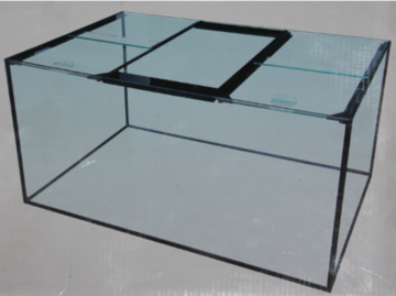 Glass Fish Tank 120cm x 45cm x 45cm  * in store pickup only *