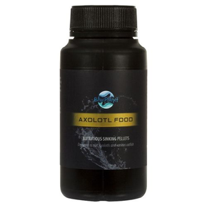 Blue Planet Axolotl Sinking Food Specifically Formulated Axolotl Diet 150g