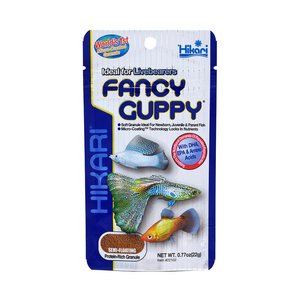 Hikari Fancy Guppy 22g Guppies And Small Sized Tropical Fish Food Livebearers
