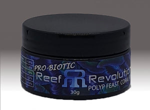 Reef Revolution Pro-Biotic Polyp Feast Reef Roids Coral Food 30g