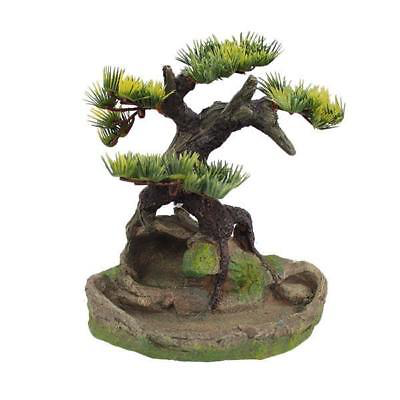Aquarium Fish Tank Bonsai Cave Tree Display Ornament Decoration