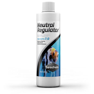 Seachem Neutral Liquid Regulator 250ml - Adjusts Aquarium Fish Tank pH 7.0