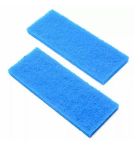 Coarse Blue Filter Sponge ( 32cm x 12cm ) 2pk