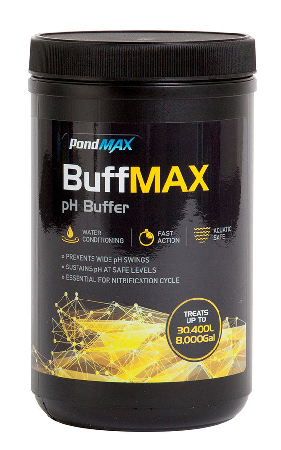 PondMax pH UP buffer aquarium fish tank raises pH - Super concentrated 900g
