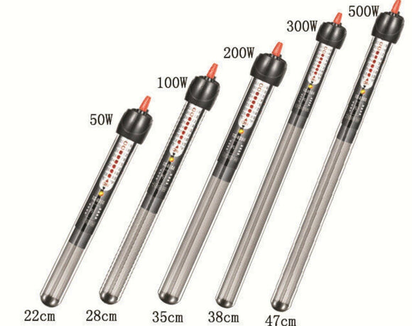 Absolute Aquarium Heater 500w - Shatter Resistant
