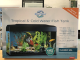 Blue Planet Classic Fish tank Aquarium 50L LED - Filter & Heater included * in store pickup only *