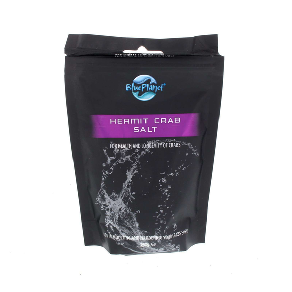 Blue Planet Hermit Crab Salt Helps Moulting & Harden Shell Reptile Health 250g