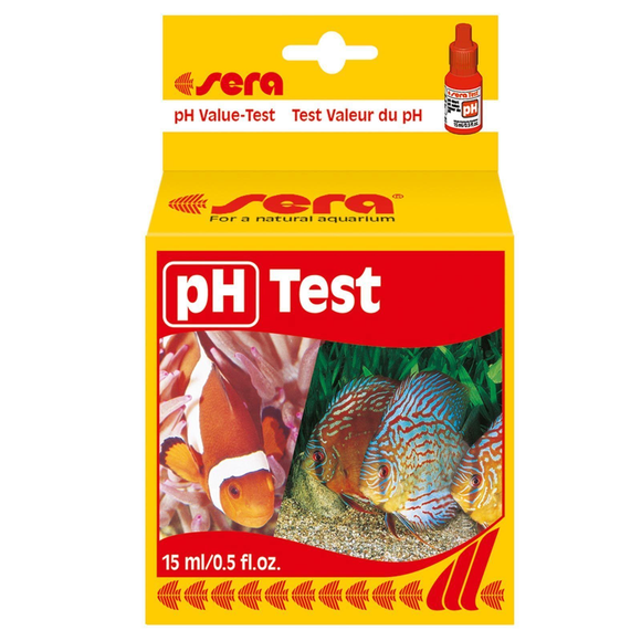 Sera pH Test 4.5-9 Range Value Aquarium Fish Tank Testing Kit