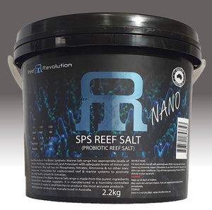Reef Revolution Pro Biotic SPS Reef Salt 2.2kg Bucket * Free Shipping *