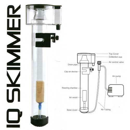 Dymax IQ Mini Protein Skimmer   -  Suits Dymax Ez Filters & other Nano Aquariums