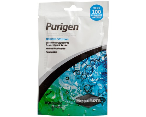 Seachem Purigen 100ml - Filter media bag included
