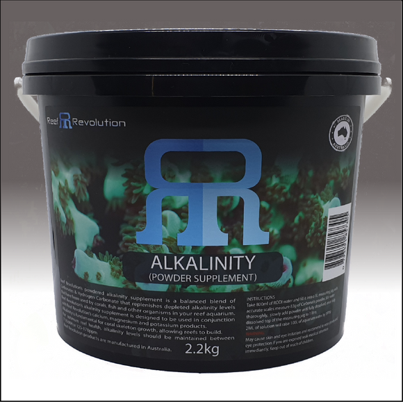 Reef Revolution Alkalinity Powder 2.2kg Bucket