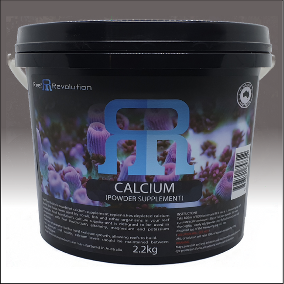 Reef Revolution Calcium Powder 2.2kg bucket
