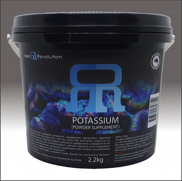 Reef Revolution Potassium Powder 2.2kg bucket