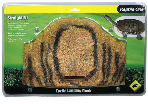 Reptile One Turtle Landing Dock - Straight Fit 37 x 20cm
