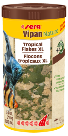 Sera Vipan Nature XL Tropical Fish Flake 210g