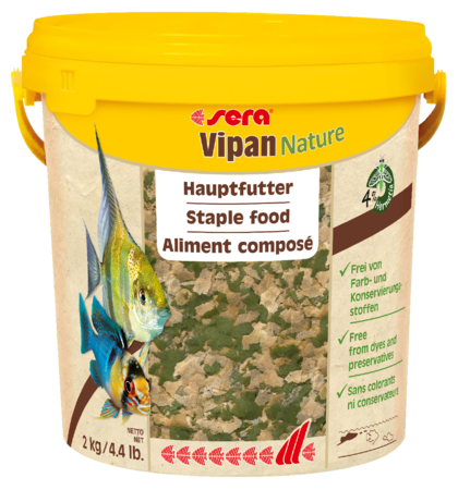 Sera Vipan Nature XL Tropical Fish Flake 2kg