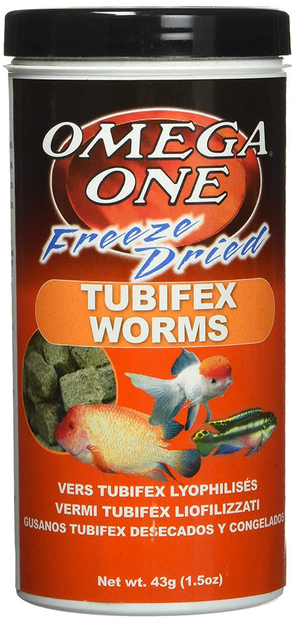 Omega One Tubifex Worms 240g