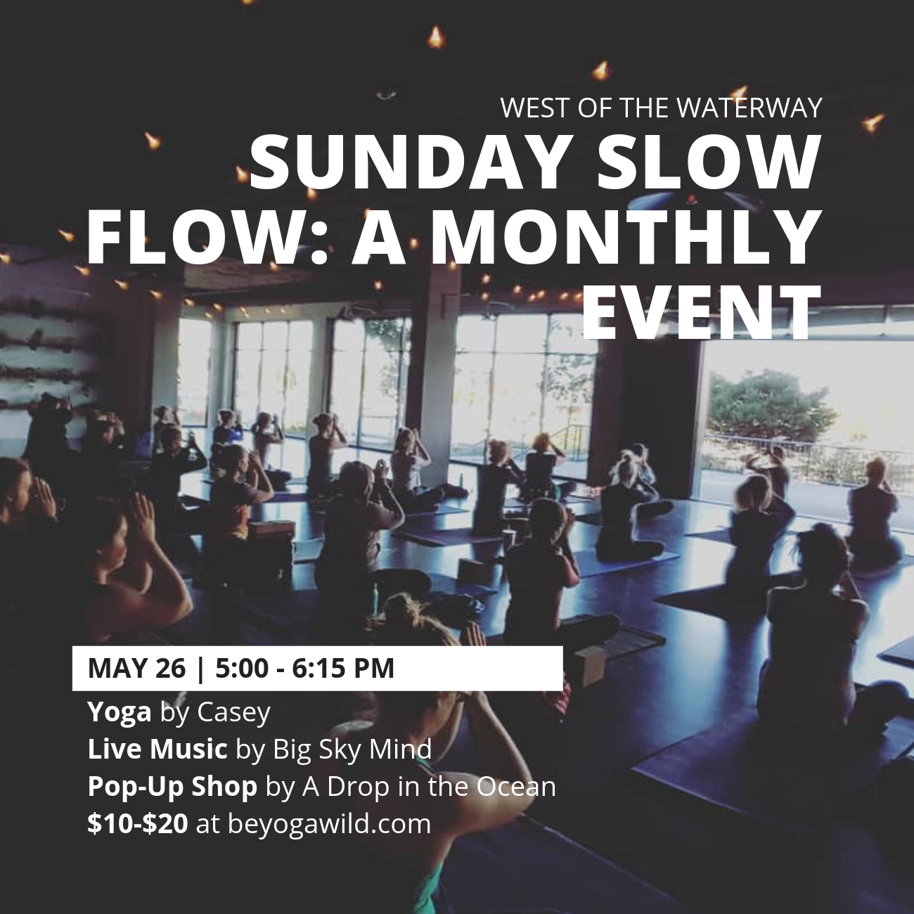 Z Sunday Slow Flow: A Monthly Event