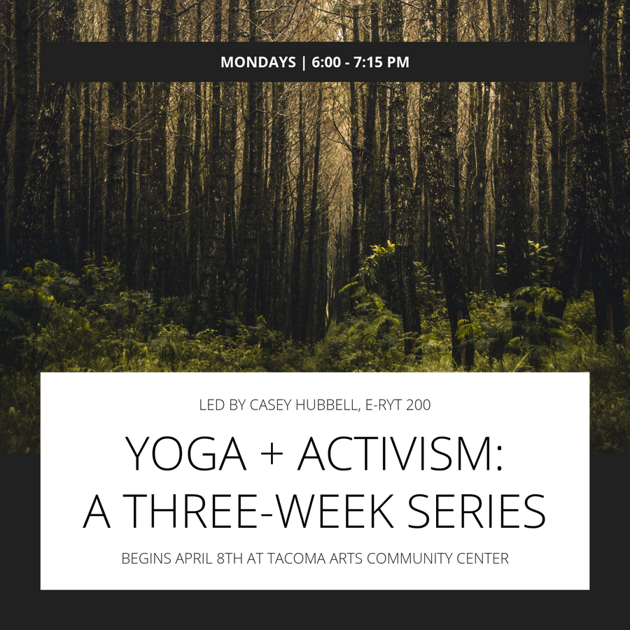 Z Yoga + Activism: A Three-Week Series