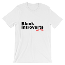 Black Introverts United Tshirt