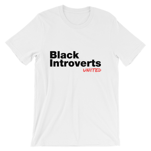 Black Introverts United Tshirt - Unisex