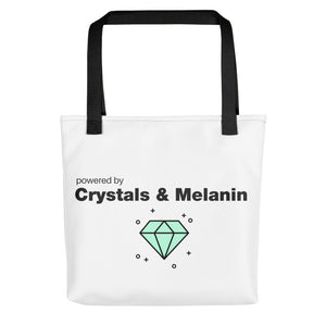 Crystal + Melanin  = Power Bag