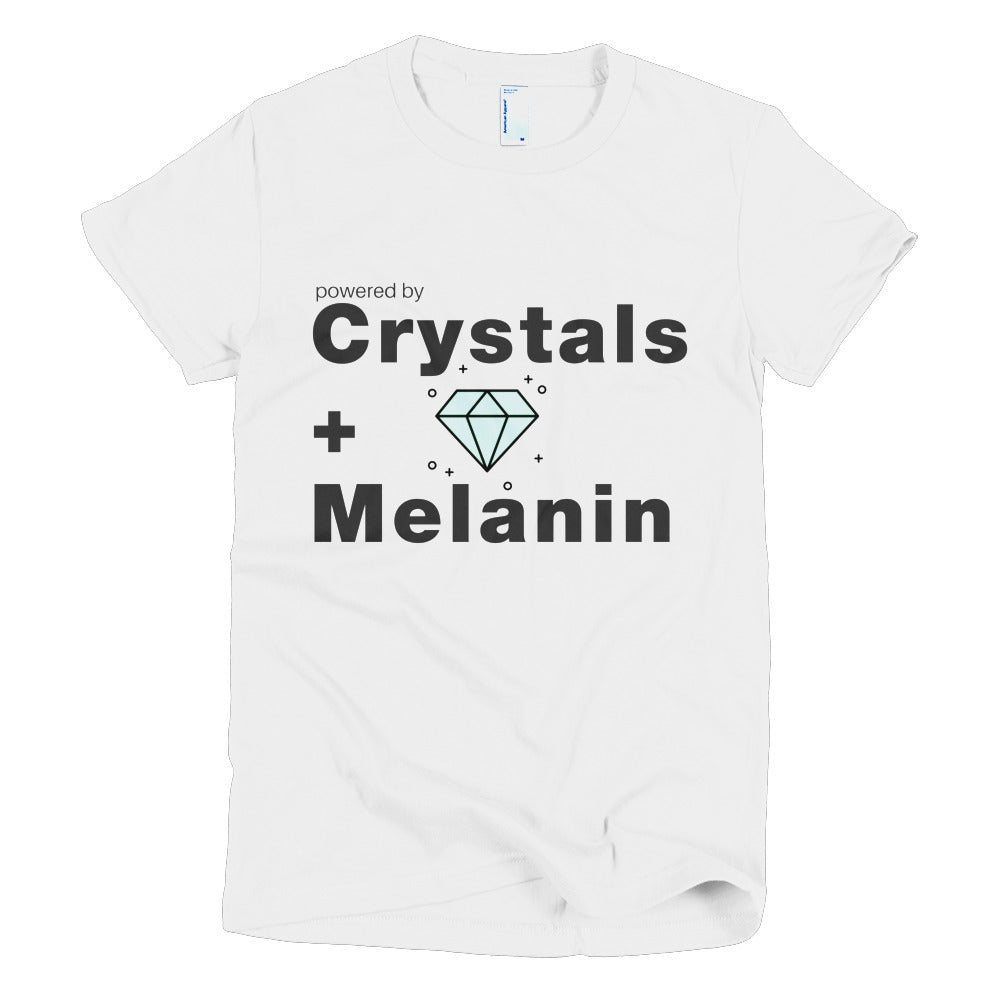 Crystals + Melanin = Power T-Shirt