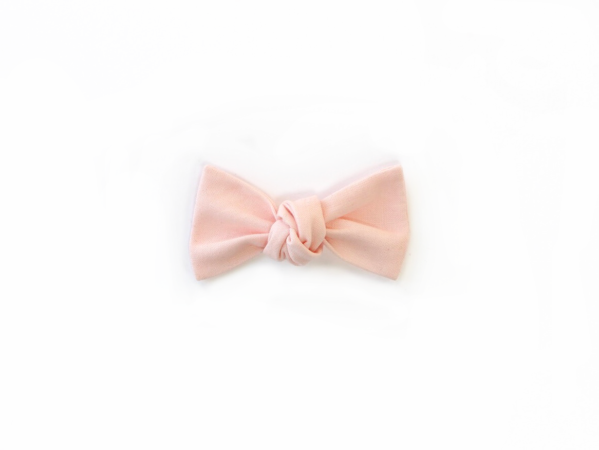 Blush | Knotted Bow