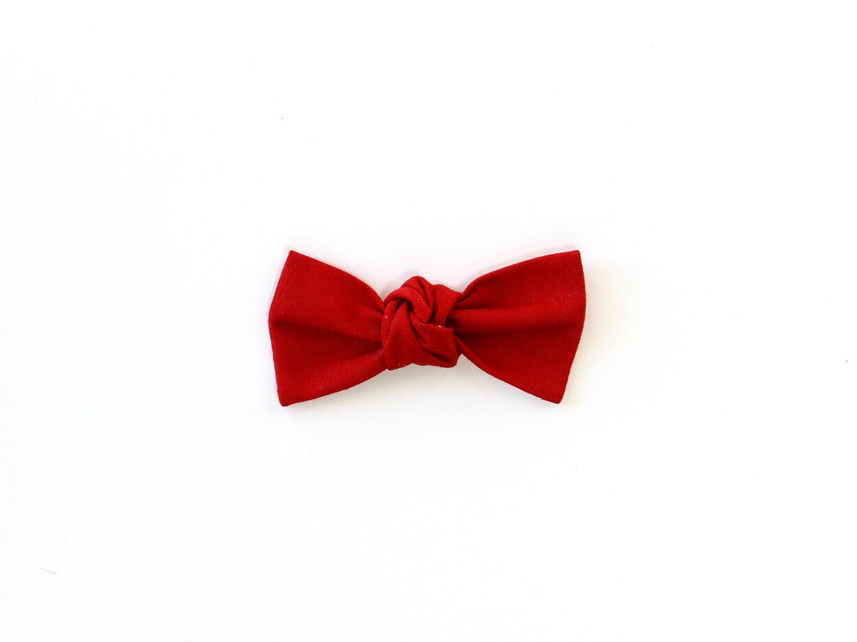 Cherry | Knotted Bow