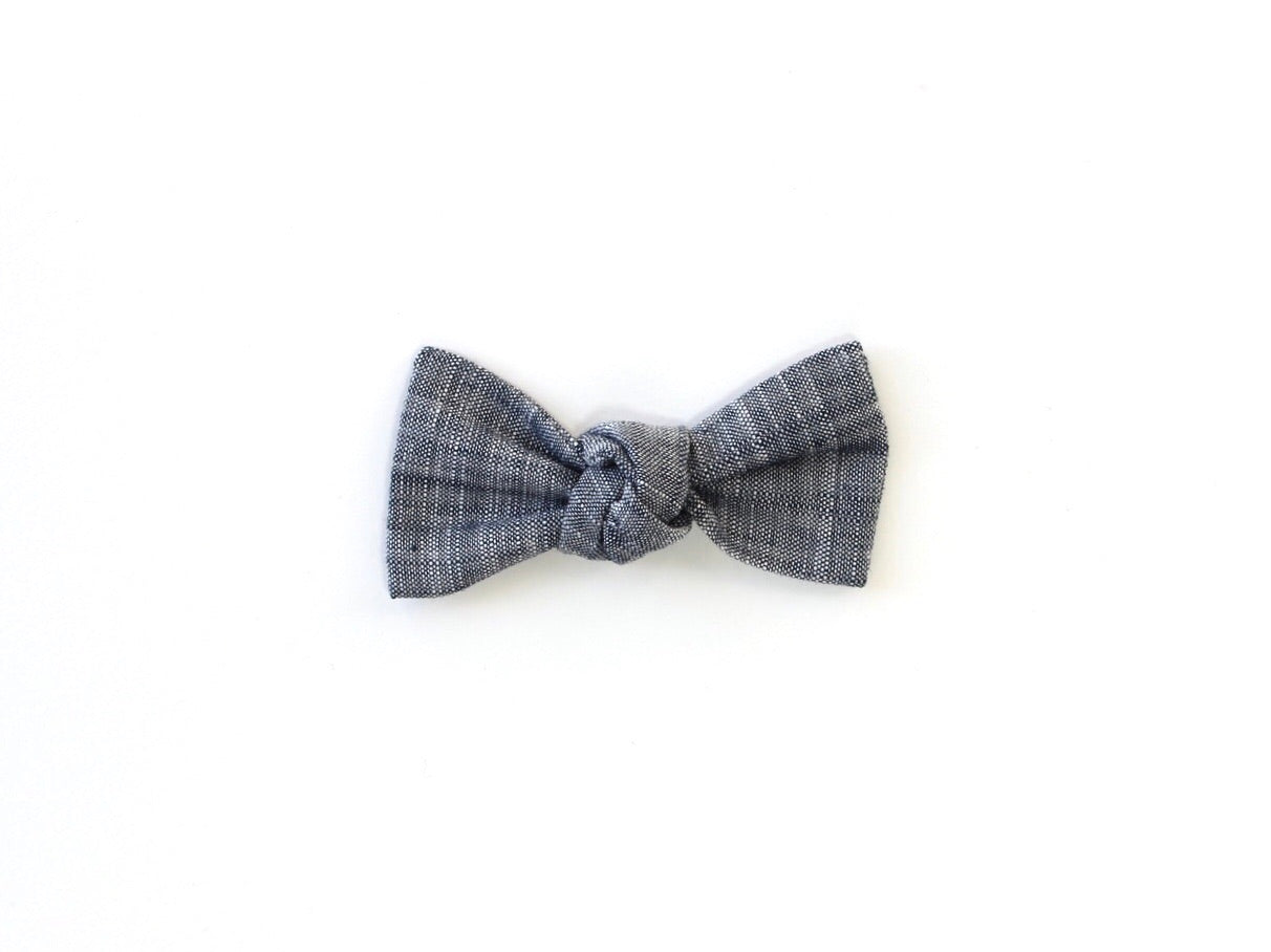 Chambray | Knotted Bow