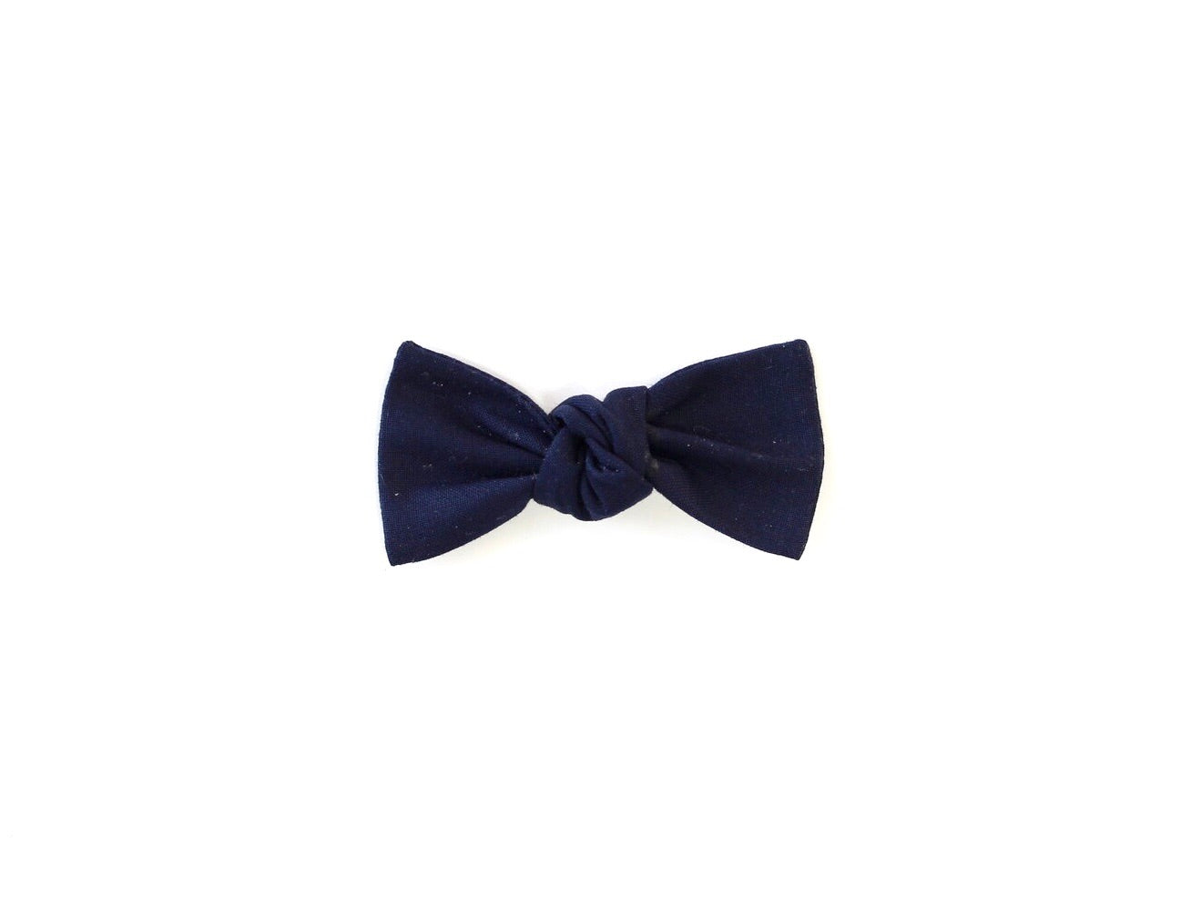 Navy | Knotted Bow