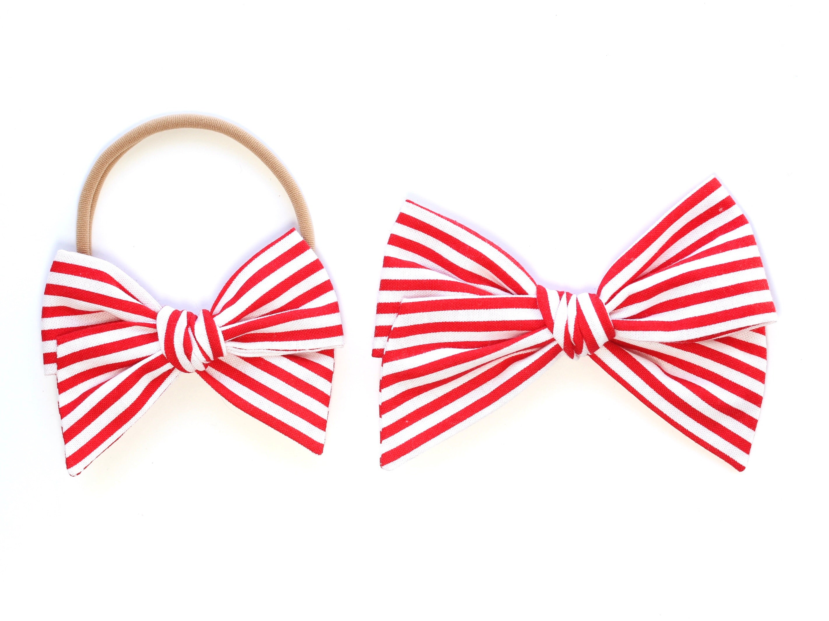 Candy Cane Stripe | Chunky Knot
