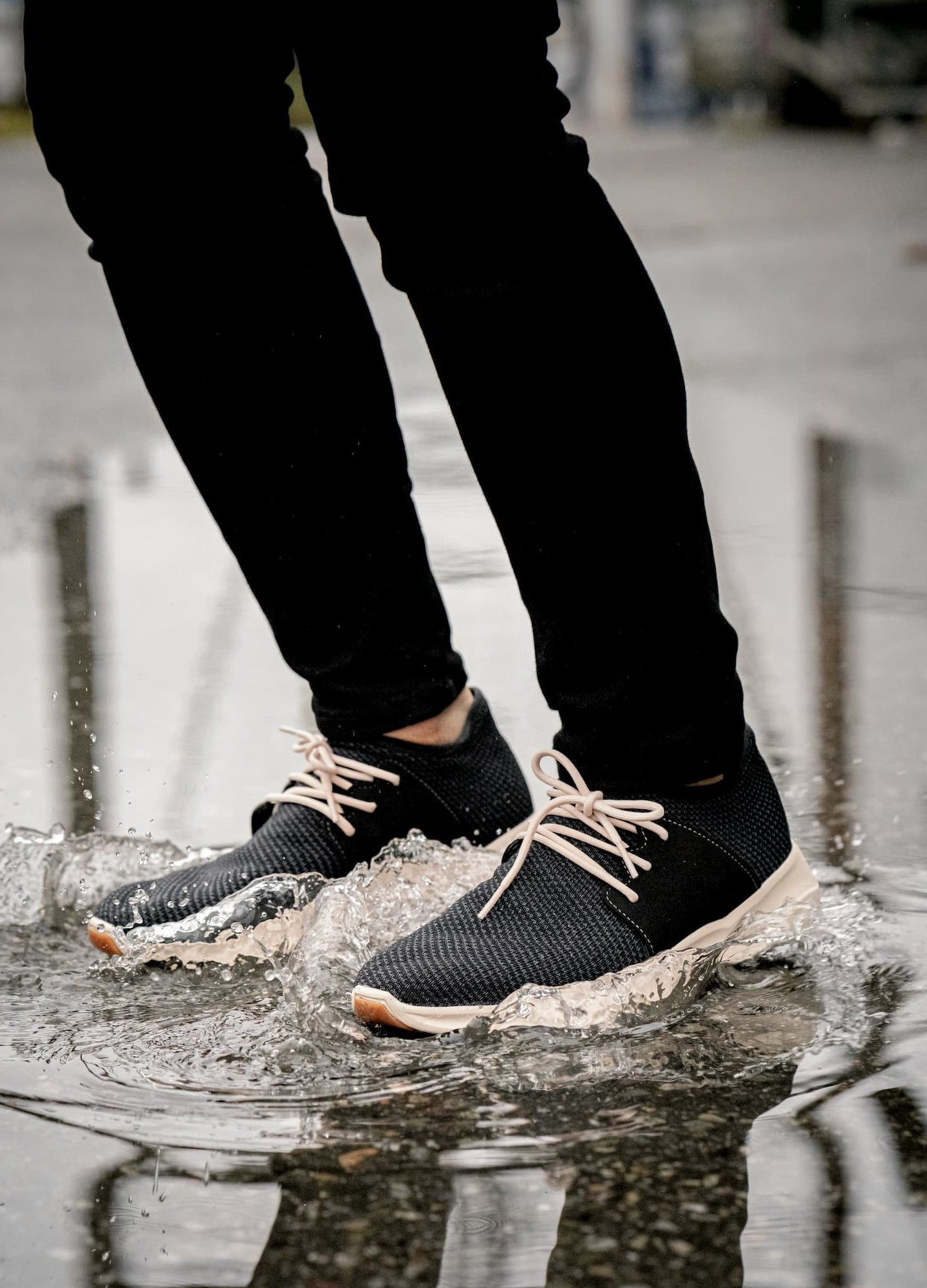 RAIN PROOF SHOES? HEKK YES!