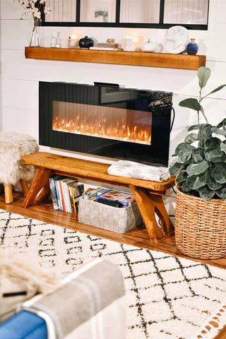 A cozy interior shot of a short-term rental ideal for secluded vacations
